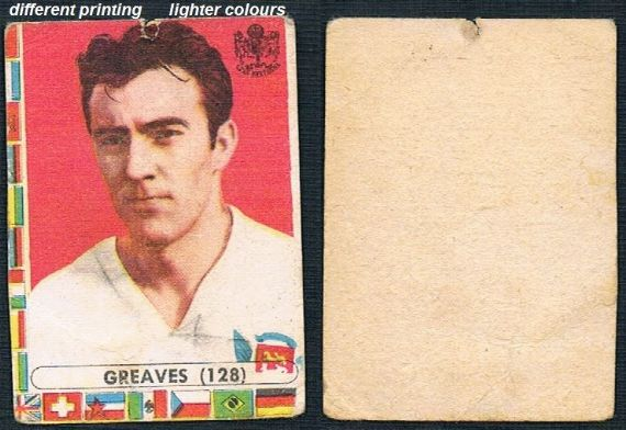 1962 Lampo Jimmy Greaves Milan England Spurs Chelsea WHU different